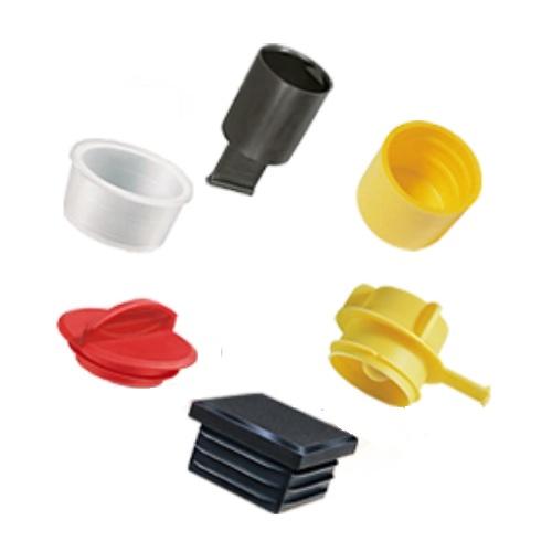 Ochranné plastové krytky a zátky