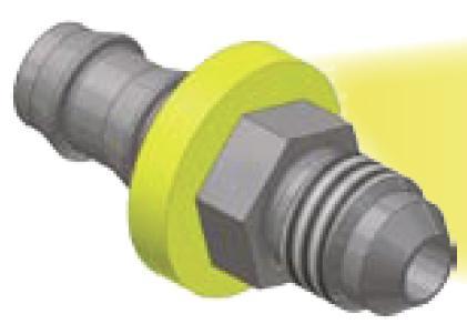 03 - Push-Lok koncovka AGJ nástrčné hrdlo přímé