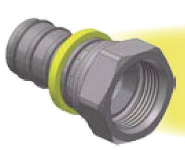 06\68 - Push-Lok koncovka DKJ nástrčná přímá s maticí