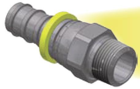 13 - Push-Lok koncovka AGN nástrčné hrdlo přímé otočné