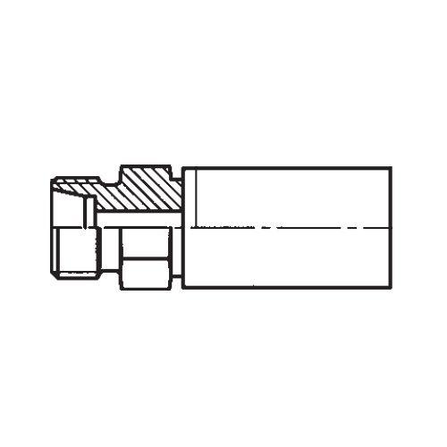 1D0PX - POLYFLEX koncovka přímá s objímkou CEL