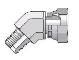 3107 - hydraulický 45°úhlový adaptér redukovaný