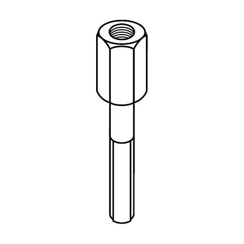 ASB - upevňovací šroub pro příchyty trubek série B