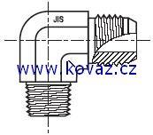 C3T4 - hydraulický 90°úhlový adaptér redukovaný