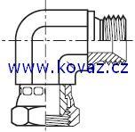 C6MK4 - hydraulický 90°úhlový adaptér s otočnou maticí Swivel