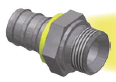 D9 - Push-Lok koncovka AGR nástrčné hrdlo přímé
