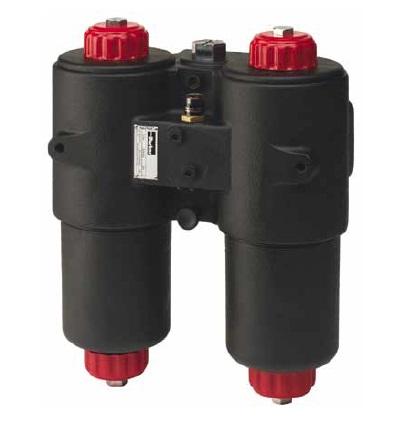 DF40 - hydraulický dvojitý filtr Parker