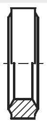 DKI - hydraulický těsnící kroužek šroubení s těsnící hranou