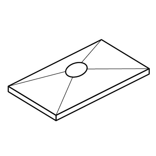DPB - krycí destička příchytek série B