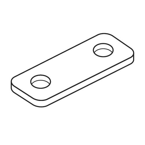 DPC - krycí šroubovací destička příchytek série C