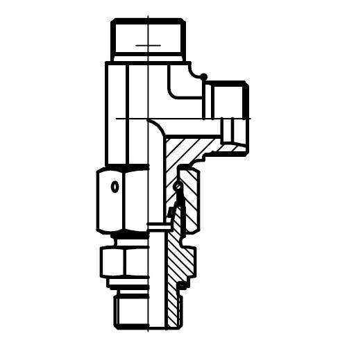EL-R-ED - hydraulická stavitelná EL spojka s těsnícím kuželem