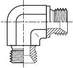 EMK4 - hydraulický 90°úhlový adaptér