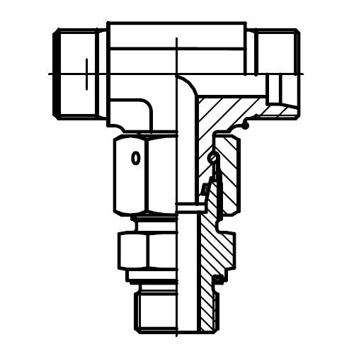 ET-R-ED - hydraulická stavitelná ET spojka s těsnícím kuželem