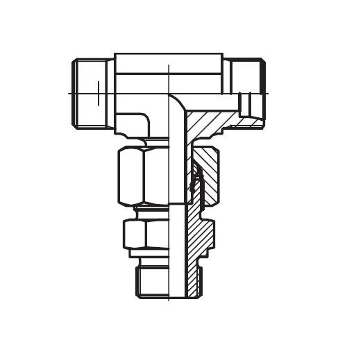 EVT-M - hydraulické stavitelné ET šroubení