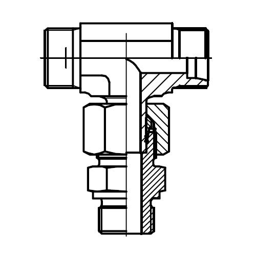 EVT-R - hydraulické stavitelné ET šroubení