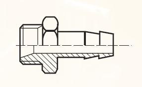 F41HBL - pneumatický hadičník adaptéru
