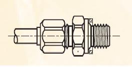 F4BM - nástrčný dvoudílný konektor mosazný Metrulok
