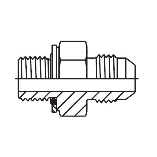 F4OMX - hydraulické hrdlo Triple-Lok® 37°