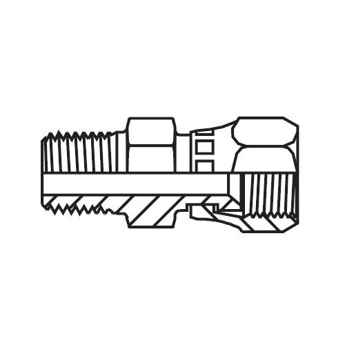 F63MX - hydraulické hrdlo s otočnou maticí Triple-Lok® 37°