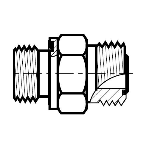 F82EDMLO - hydraulické hrdlo O-Lok