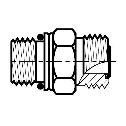F87OMLO - hydraulické hrdlo O-Lok