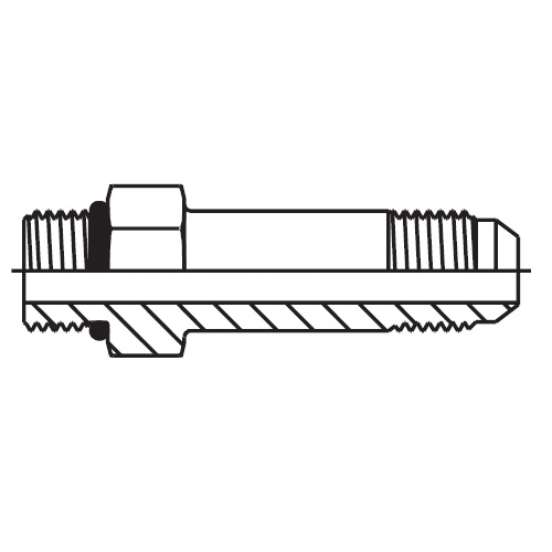 FF5OMX - hydraulické dlouhé hrdlo Triple-Lok® 37°
