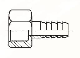 FGHBL - pneumatický hadičník adaptéru