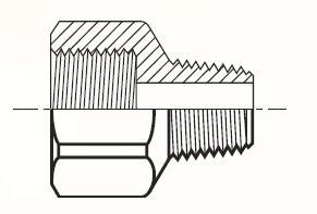FHG4 - pneumatický adaptér mosazný
