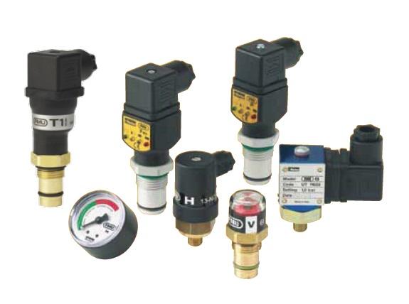 Elektrický indikátor znečištění filtrů FMU