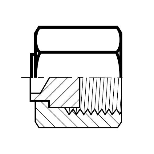 FNML - hydraulická záslepka O-Lok