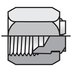 FNMTX - hydraulická záslepka na konce trubek Triple-Lok® 37°