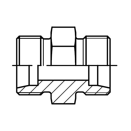 G - hydraulická přímá spojka šroubení