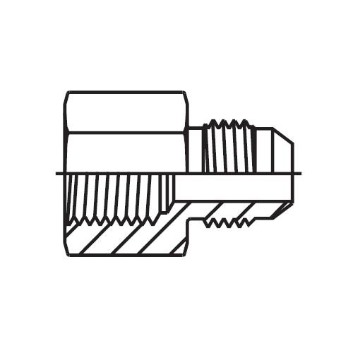 G4MX - hydraulické hrdlo Triple-Lok® 37°