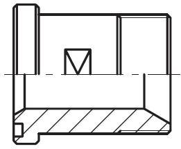 GFS-G - hydraulický přímý adaptér příruby šroubení
