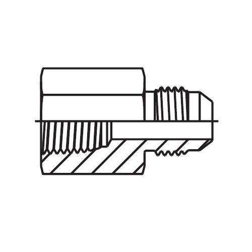 GMTX - hydraulické hrdlo Triple-Lok® 37°