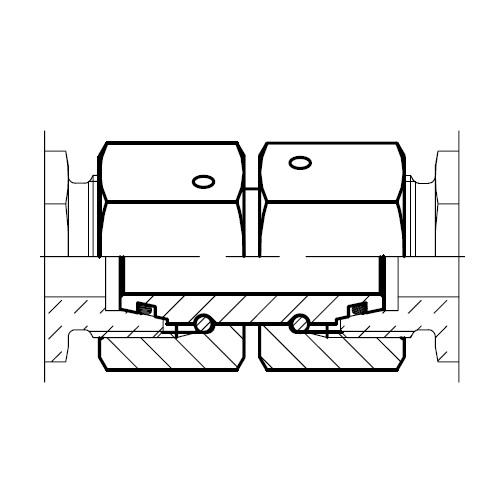 GZ - hydraulická přímá spojka šroubení s kuželem