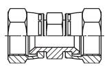 HMX6 - spojka matice/matice s otočnou maticí Triple-Lok® 37°
