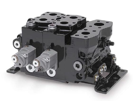 K220LS - řídící kontrolní směrový vícesekční rozvaděč ventilu