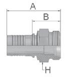 KD047 - koncovka CEL středotlaká přímá