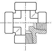 KMMOO - hydraulický křížový adaptér