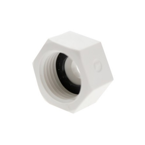 6355 - Legris nástrčný plastový adaptér šroubení se závitem BSPP