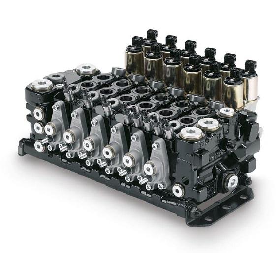 L90LS - řídící kontrolní směrový vícesekční rozvaděč ventilu
