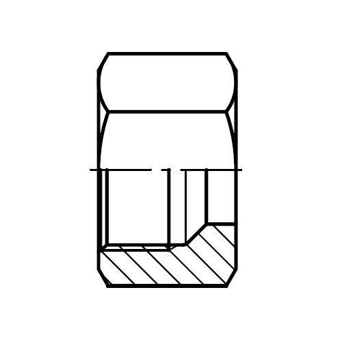 M - hydraulická převlečná matice šroubení