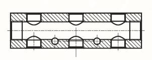 MANI2 - pneumatické hliníkové vícenásobné 2 kusy adaptéru