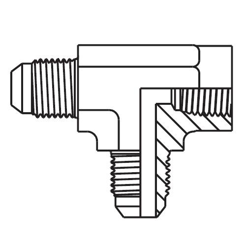 MTX - hydraulická EL spojka Triple-Lok® 37°
