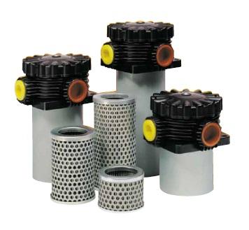 Nízkotlaké hydraulické filtry Parker