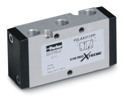 Pneumaticky ovládané ventily P2L