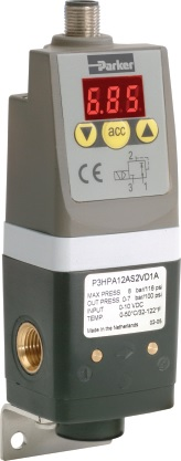 Pneumatické elektronické regulátory řady P3P-R