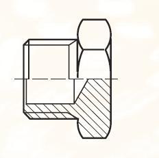 P80NBL - pneumatická zátka adaptéru