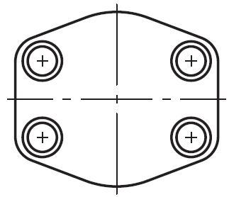 PCFF - hydraulická vysokotlaká plochá uzavírací přírub